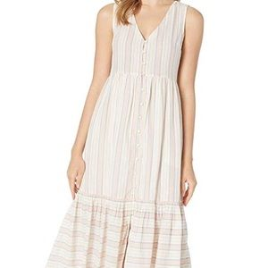 LUCKY BRAND LUNA BUTTON FRONT DRESS